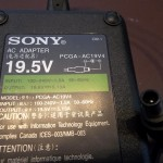 sony vaio power adapter power supply 100W